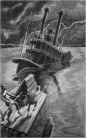 Иллюстрация к Гекльбери Финну
