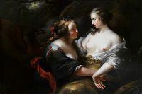 Юпитер в облике Дианы, соблазняющий Каллисто. Частное собрание