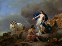 Гера приказывает Аргусу стеречь Ио