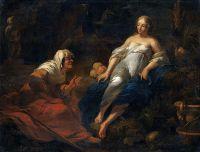 Вертумн и Помона. 26х32. Частное собрание