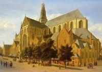 Внешний вид церкви Св. Бавона в Харлеме