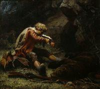 Раненый охотник