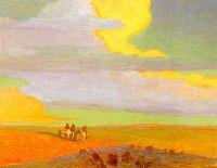С восходом солнца путешествие в северном направлении