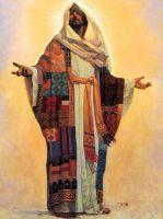 В таком многоцветном платье он Бог для всех