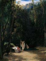Купальщицы в парке Терни