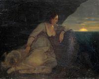 Итальянка на берегу моря