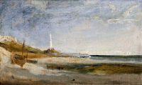 Лодки и маяк в Генуе