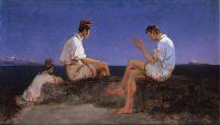 Три рыбака у Неаполитанского залива