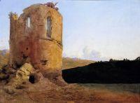 Руины башни с драконом
