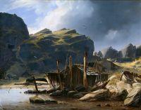 Рыбацкий поселок Сольсвик, Норвегия
