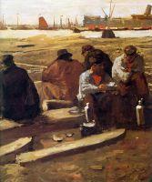 Строительство колодца в Амстердаме - второй завтрак рабочих