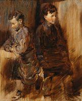 Два юных сапожника