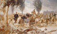 Бисмарк и Наполеон III после сражения при Седане