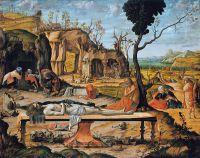 Подготовка гробницы Христа [Preparation of Christ's Tomb] 1505
