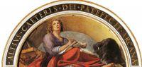 Лунетта с Иоанном Богословом
