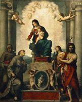 Мадонна со Святым Франциском