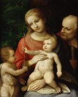 Мадонна с младенцем в окружении Святого Иоанна Крестителя и Святого Иосифа