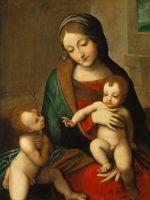 Мадонна с младенцем и младенец Иоанн