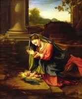 Богоматерь, Поклонение Младенцу