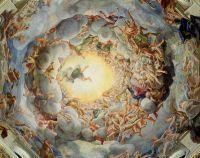 Успение Богородицы, с потолка купола