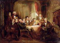 Сэр Вальтер Скотт и его литературные друзья в Эбботсфорт