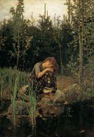 «Алёнушка», В.Васнецов, 1881