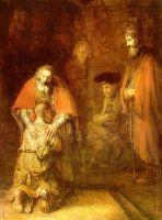 «Возвращение блудного сына», Рембрандт