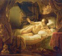 «Даная» Рембрандт, 1636-1647, Государственный Эрмитаж, Санкт-Петербург
