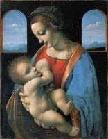 «Мадонна Литта», Леонардо да Винчи, ок. 1490
