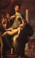 «Мадонна с длинной шеей», Пармиджанино,