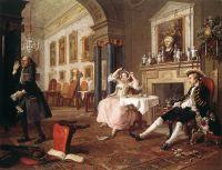 «Модный брак», Уильям Хогарт