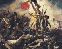 «Свобода, ведущая народ», Эжен Делакруа