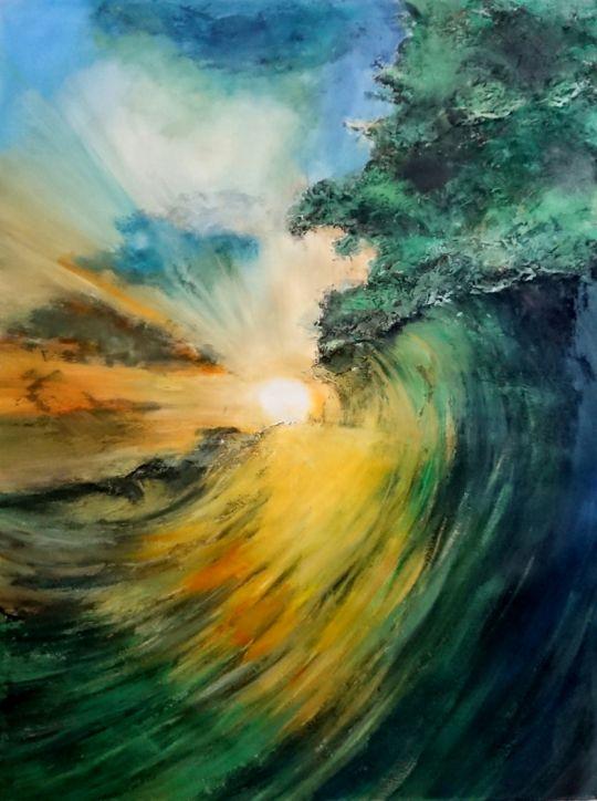 Движение к солнцу.худ.А.Бруно