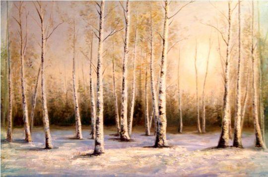 Зима.худ.С.Минаев