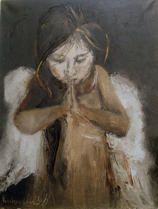 Ангел. Молитва.