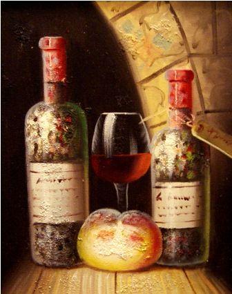 Бутылки.худ.Т.Бруно
