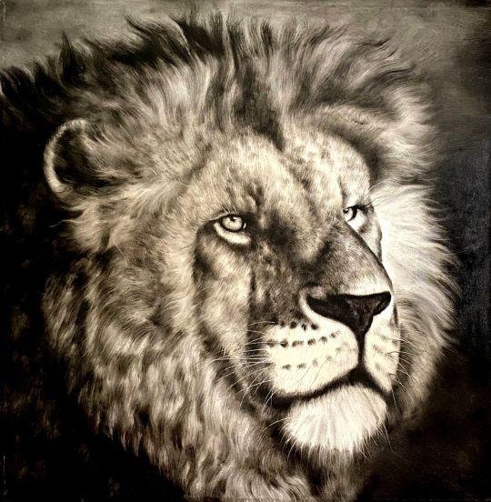 Царь зверей.худ.А.Бруно