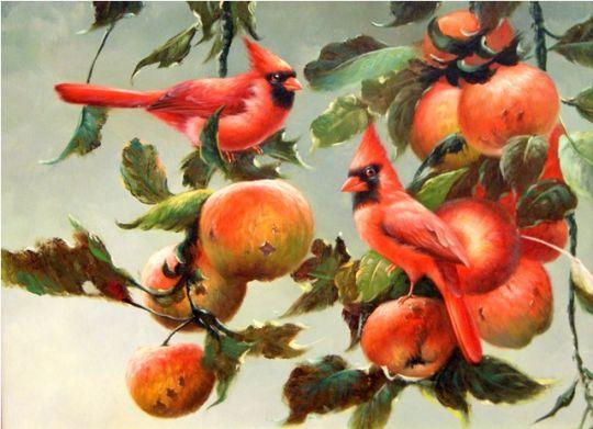 Птички.худ.Т.Бруно