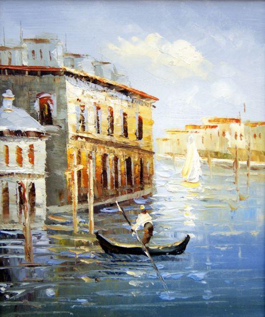 Венеция. худ.Р.Смородинов