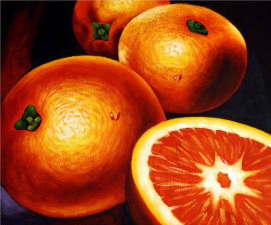 Апельсины.худ.С.Минаев