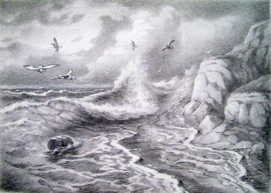 Cтранники моря.