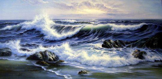 Волны.худ.А.Бруно
