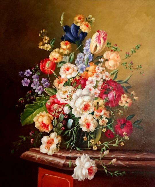 Букет в голландском стиле.худ.Р.Смородинов