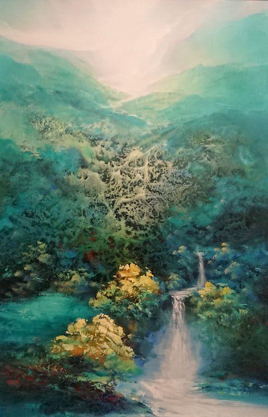 Путешествие по Японии.худ.Л.Гарсия