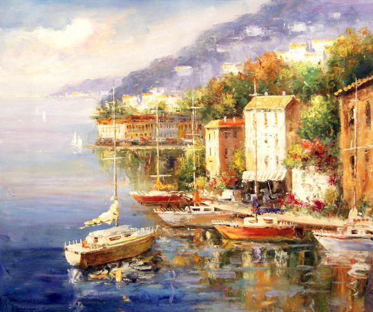 Лодки.худ.С.Минаев