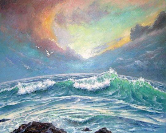 Музыка океана.