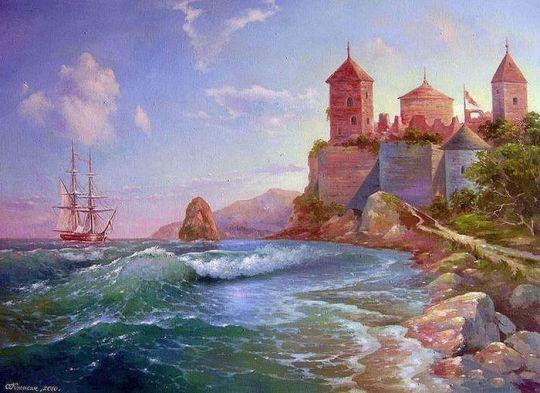 Морская крепость.