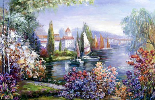 Вид на залив.худ.Р.Смородинов