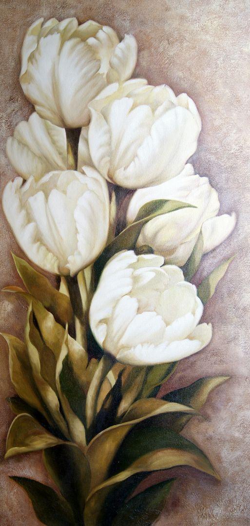 Тюльпаны.худ.А.Джанильятти