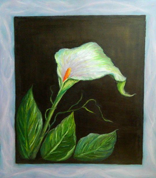 Изящный цветок